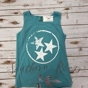 Tops - Tri-Star Tank Top-Comfort Colors